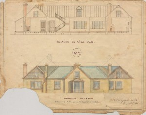 Different variations of the proposed homestead.