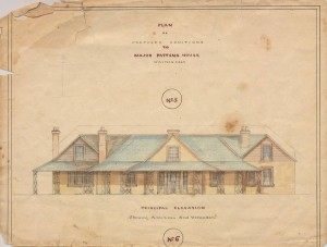 Plans as Commissioned by Major Paton in 1863.